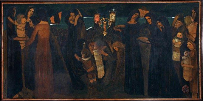 Lorenzo Viani, Benedizione dei morti del mare