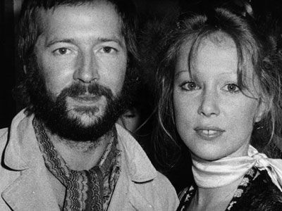 """Wonderful tonight"": storia <br>di Eric Clapton e Pattie Boyd"
