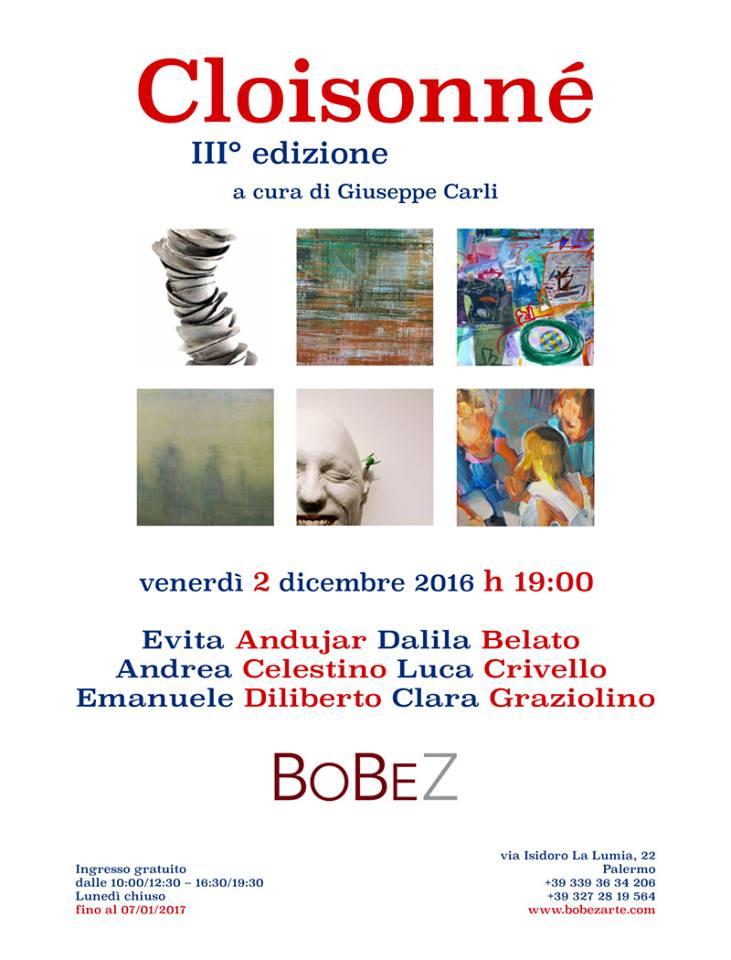 "Locandina della mostra ""Cloisonné"""
