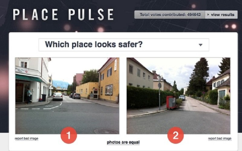 PlacePulse app