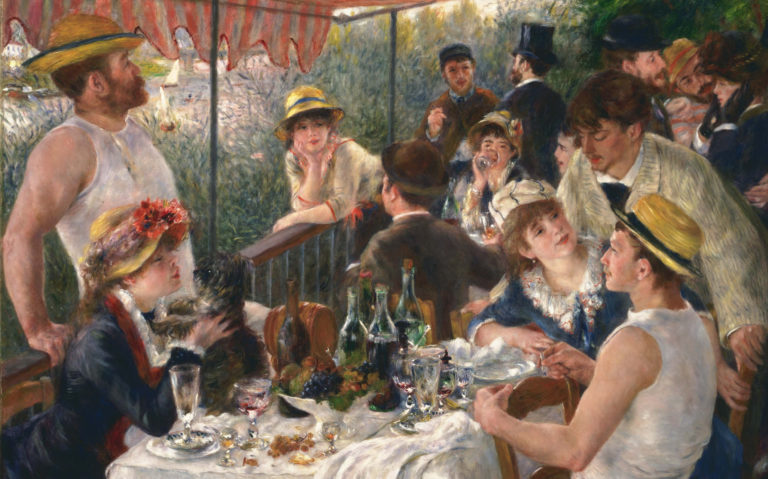"""La colazione dei canottieri"": la joie de vivre di Auguste Renoir"