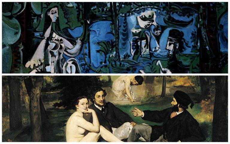 """""""Le déjeuner sur l'herbe"""": Manet e Picasso a confronto"""
