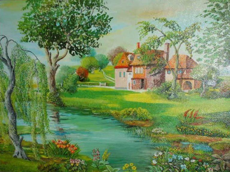 Gomì: la pittura sognante di un paesaggista europeo