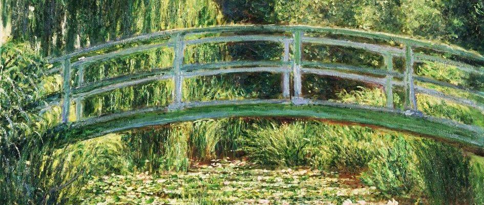Il ponte giapponese claude monet e la finestra sul paradiso for Finestra giapponese