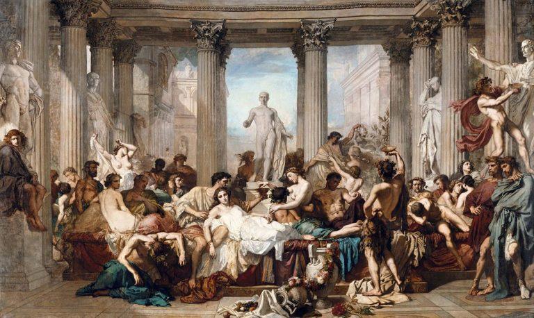 """""""Les Romains de la décadence"""": la decadenza della società francese"""