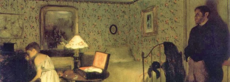 """""""Lo Stupro"""" nell'impressionismo di Edgar Degas"""