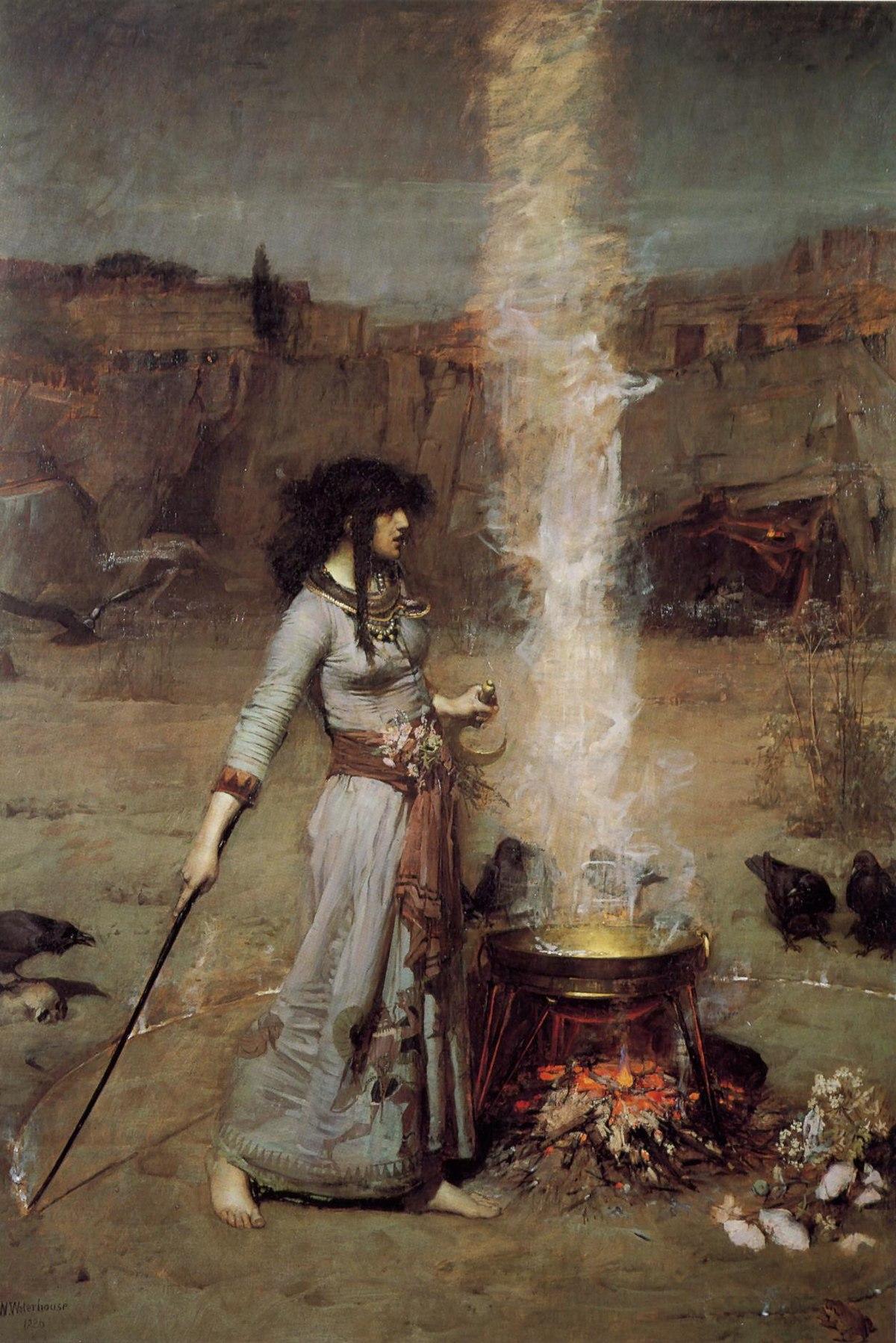 """The magic circle"""": Waterhouse e la rappresentazione della """"bella strega"""""""