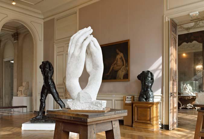 Le sculture di Rodin immerse nella natura imperturbabile
