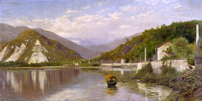 Armonie Verdi: i paesaggi dalla Scapigliatura al Novecento in mostra a Verbania