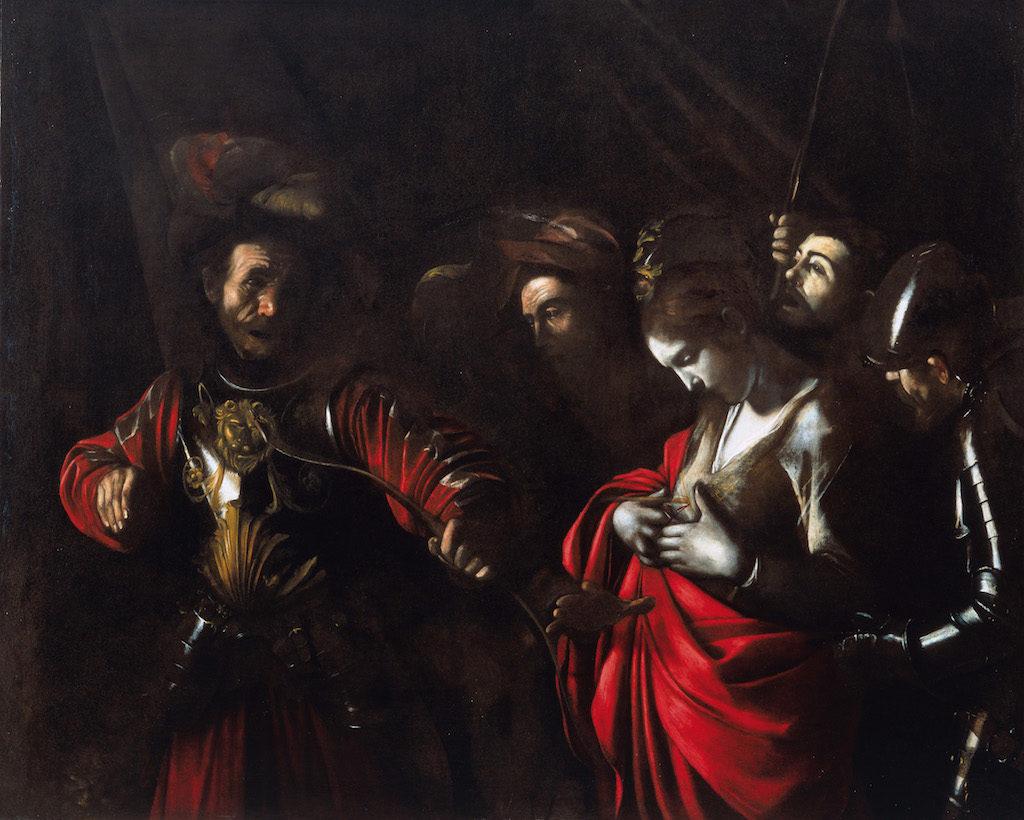 Caravaggio martirio di sant'orsol