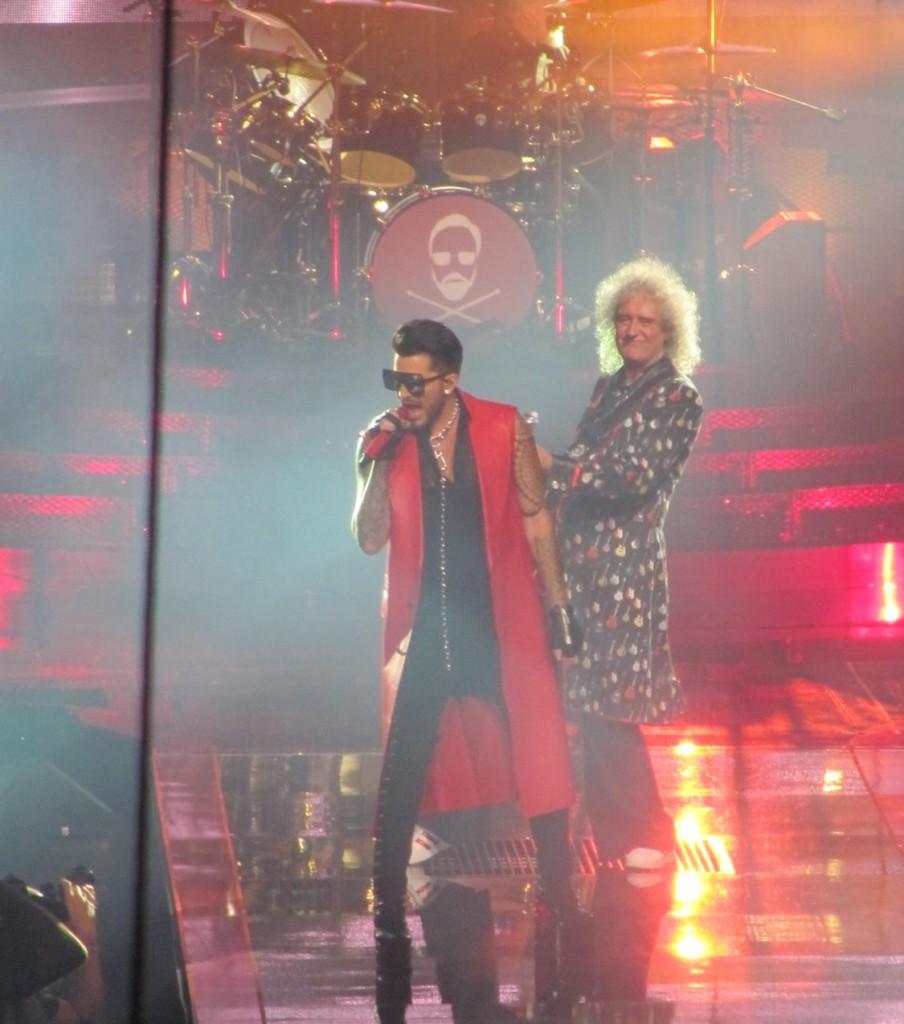 Adam Lambert e Brian May