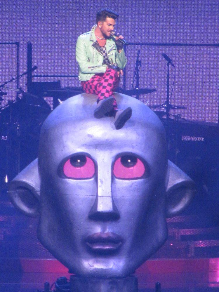 Adam Lambert robot
