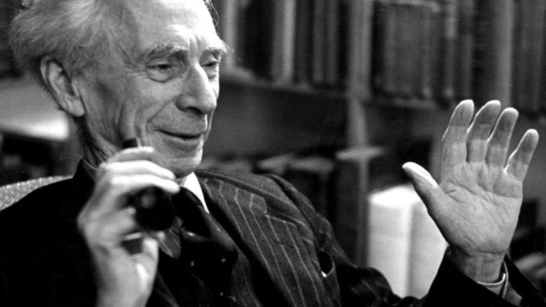 La felicità è un sillogismo: qualche consiglio di Bertrand Russell