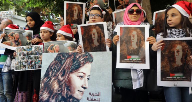 Ahed Tamini: chi è la 17enne palestinese che è già un'icona