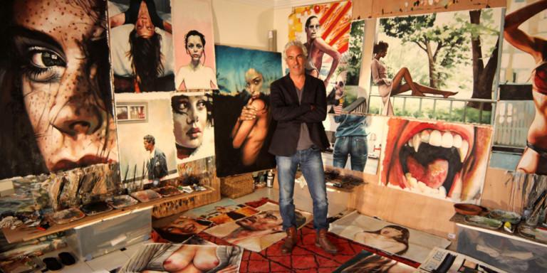L'erotismo ai tempi di Tumblr: i dipinti di Thomas Saliot