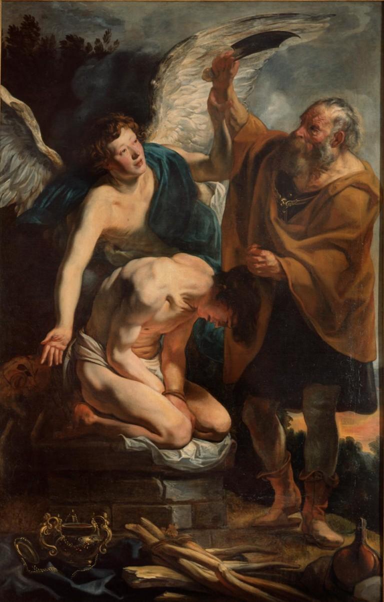 Il «Sacrificio di Isacco» di Jordaens, capolavoro di umanità