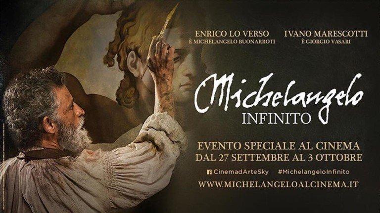 «Michelangelo Infinito», un artista senza tempo sul grande schermo