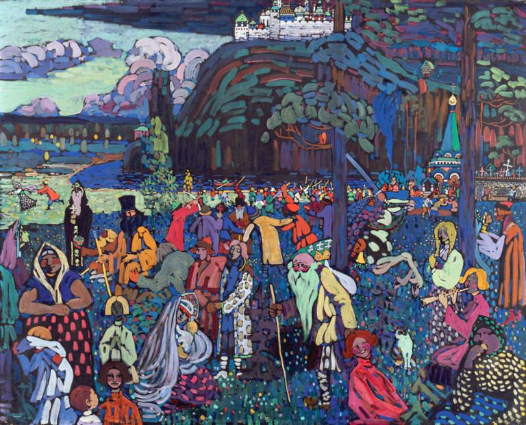 «Scene russe»: viaggio nella Russia fiabesca di Kandinskij