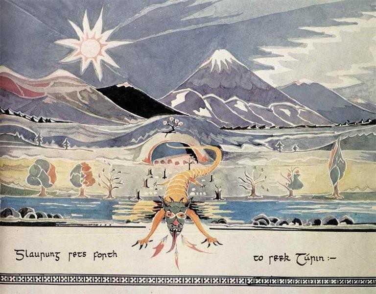 Tolkien disegnò la Terra di Mezzo (non l'ha solo scritta)