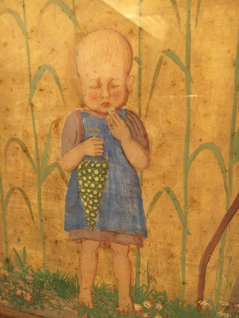 l'artista bambino