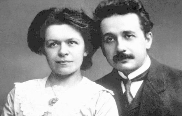 moglie di Einstein laurea