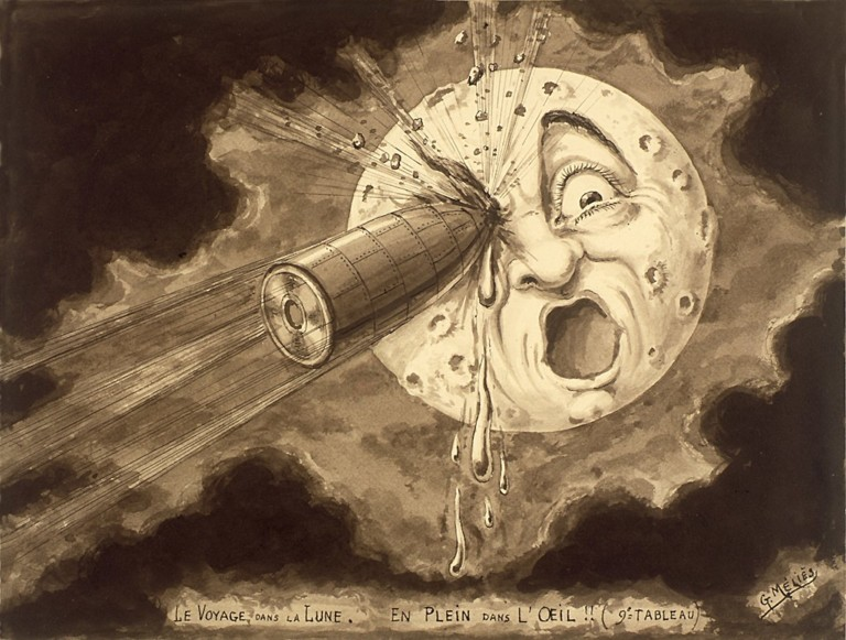 La luna vista al cinema, storia di un sogno divenuto realtà