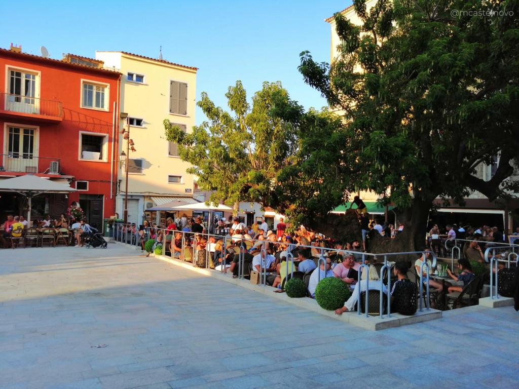 place de la republique portovecchio corsica