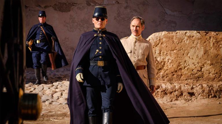 Venezia76. «Waiting for the Barbarians», Johnny Depp, Robert Pattinson e un film a metà