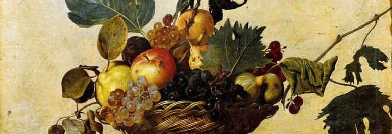 Vita e morte nella «Canestra di frutta» di Caravaggio