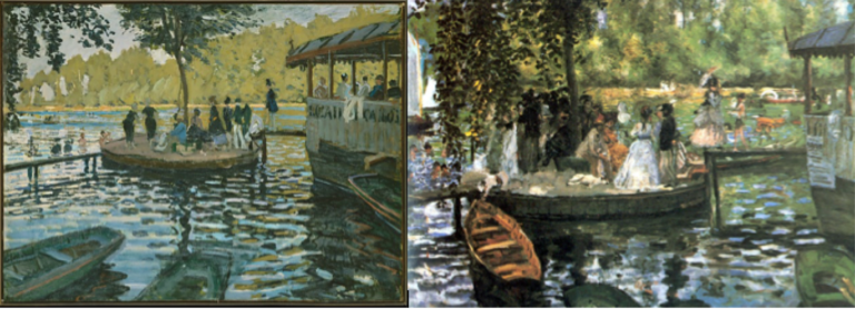 «La Grenouillère»: un confronto tra Monet e Renoir
