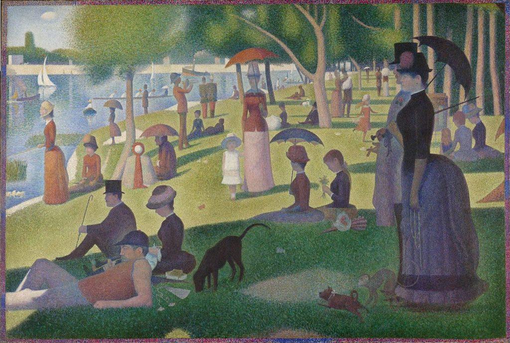 Georges Seurat, Una domenica pomeriggio sull'isola della Grande Jatte