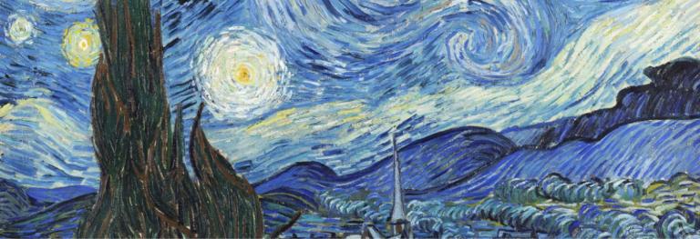 «Notte stellata» di Vincent Van Gogh, un sogno dipinto