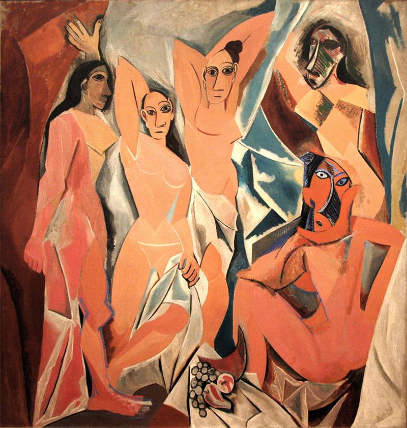Les Demoiselles d'Avignon di Picasso