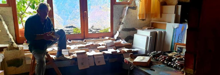 Giorgio da Valleggia, una vita per l'arte tra le montagne della Val d'Ossola