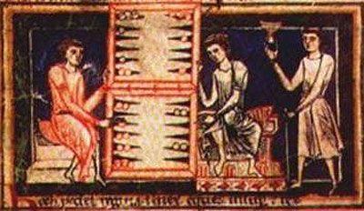 giochi da tavolo nel medioevo