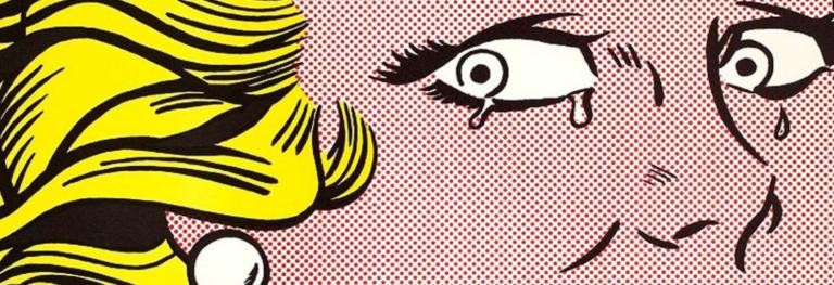 «Crying Girl», la rivoluzione pop di Roy Lichtenstein